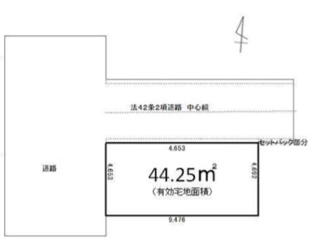 墨田区本所4丁目 売土地(建築条件付)