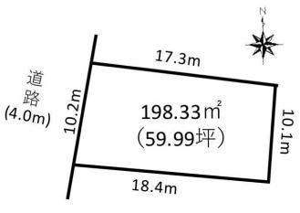 中野区鷺宮二丁目 売土地