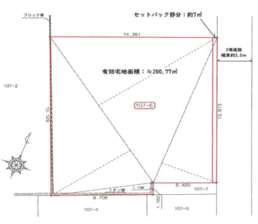 台東区日本堤1丁目 売土地