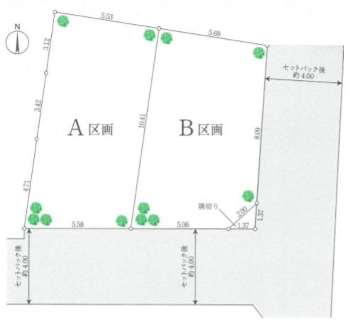 荒川区西尾久2丁目 A区画 売土地