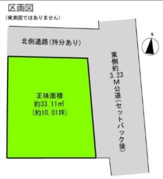 文京区千駄木5丁目 売土地