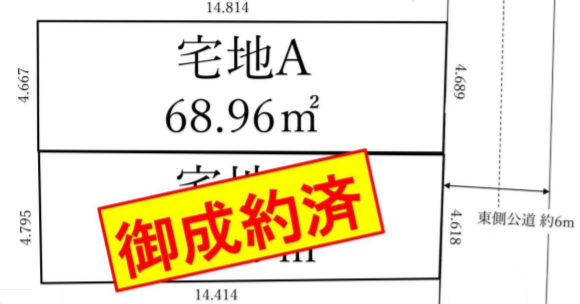 江東区千田1丁目 売土地