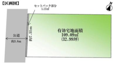 渋谷区西原1丁目 売土地
