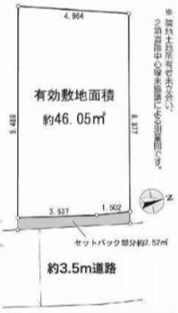 墨田区墨田3丁目 売土地
