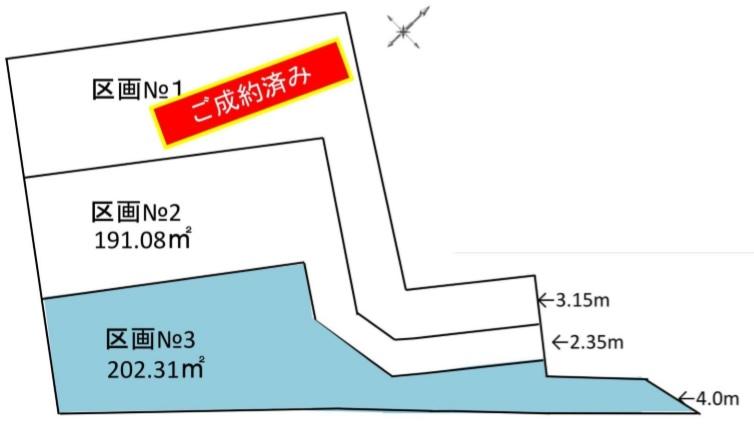 文京区小日向2丁目 区画No.3 売土地