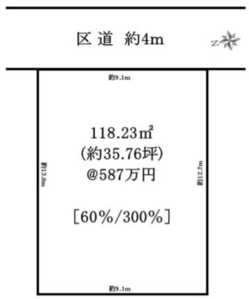 渋谷区千駄ヶ谷5丁目 売土地