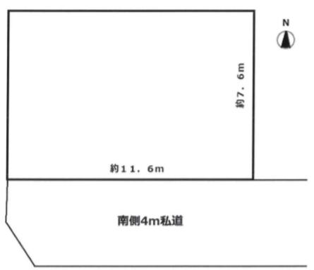 江戸川区中央1丁目 売土地